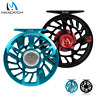 Maxcatch SPARTA Saltwater Waterproof Fly Fishing Reel 3-10WT Fully Sealed Drag