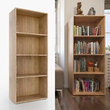 VICCO XL Bücherregal 155 x 60 cm Eiche Sonoma - Medienregal Dekoregal Büroregal