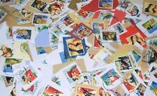 500 of stamps 1st and 2nd class LARGE - used,on paper