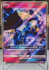 Pokemon Mewtwo & Lugia Shadow Gx Handmade Custom Orica Card Not Tcg Read Descrip
