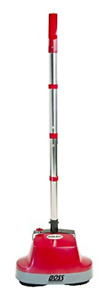 Boss Cleaning Equipment B200752 Scrubber, Gloss Boss 470rpm 18' 3 Wire Cord Red