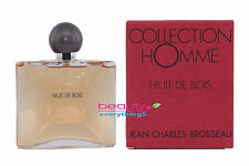 Collection Homme Fruit De Bois by Jean Charles Brosseau 3.4oz EDT Spray For Men