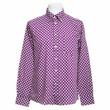 Polycotton Spotted Long Sleeve Casual Shirts & Tops for Men