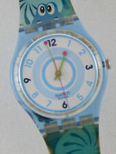 """Swatch Watch GN217 Froggy Weather 2004 Fall Winter Collection """"Rare""""!"""
