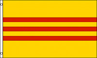 SOUTH VIETNAM  FLAG 3 x 5 '  FLAG -  NEW 3X5 INDOOR OUTDOOR COUNTRY FLAG