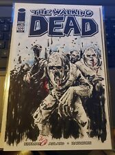 Original Art Sketch of Zombies by Kelly Williams Walking Dead Number 109
