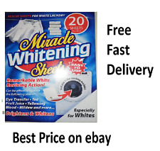 Miracle Clothes Whitening Sheets Rescue Sheets For White Laundry
