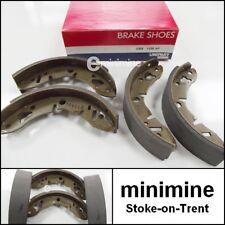 Classic Mini Delantero Freno De Tambor Zapato Set genuino UNIPART GBS1356 GBS733 Kit de Austin