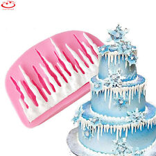 3D Cold Ice Shape Silicone Fondant Mold Cake Decorating Chocolate Baking Mould