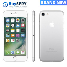 Apple iPhone 7 🍎 Silver 128GB T-Mobile AT&T GSM Unlocked Smartphone ✨ Brand New