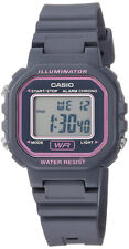 Casio Women's Classic Digital Quartz Gray Resin Watch LA-20WH-8ACF