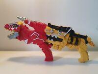 Power Rangers Dino Charge Yellow Plus Red Morpher Gun Bandai