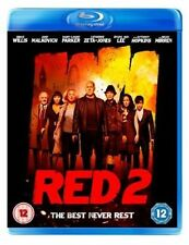 Red 2 Blu-ray DVD Region B