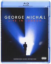 George Michael - Live In London Music Video & Concert New and Sealed UK Blu-ray