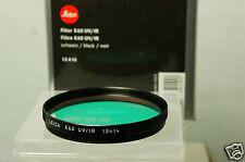 Filtro Leica e60 UV/IR negro/Black/noir 13414 New neu-6037
