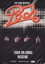 Dvd + Libretto «POOH ~ 1994 UN ANNO INSIEME» slipcase nuovo