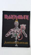 Iron Maiden seventh son of hardrock logo vintage music patch RARE