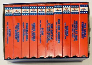 V For Victory 10 VHS Set WW2 1997
