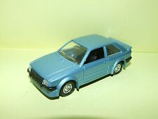FORD ESCORT RS TURBO Bleu SOLIDO Sans Boite 1:43