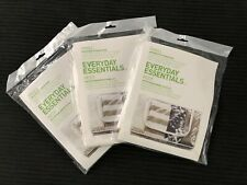 "3 Pack Under Bed Zipper Storage Bag Clear Peva Everyday Essentials Sm 26""x16""x5"""