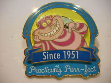 Cheshire Cat Practically PurrFect Since 1951 3-D Disney Pin Limited Edition 1500