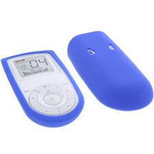 Tasche für Sanitas SEM 43 - EMS/TENS Reizstromgerät  Schutz Hülle Silicon Blau