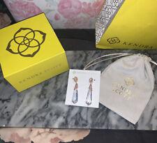 NWT Kendra Scott FAYE  Rose Gold Drop Earrings - Cubic Zirconia, Crystal, Pearl