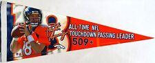Denver Broncos Peyton Manning All-Time NFL Touchdown Pasing Leader Pennant