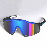 XSY Men's Outdoor Cycling Sunglasses Sports Goggle Mirrored Shades Glasses UV400