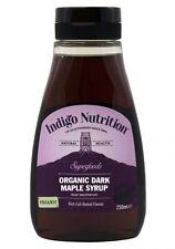 Orgánico oscuro jarabe de arce - 250ml - (grado premium) Indigo Hierbas