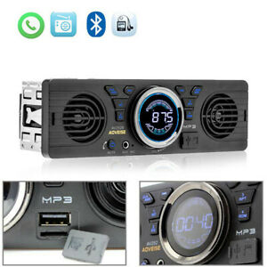 Car Radio Stereo With Built-In Speakers Bluetooth USB MP3 Hands Free UK
