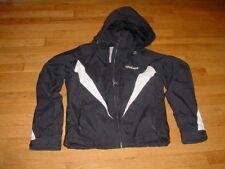 SPYDER Ladies 8 Insulated Waterproof Hooded Jacket Coat Xt 5.000mm Black Nice!