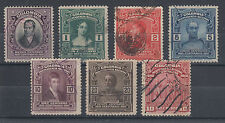 Colombia Sc 331/338 used 1910 Pictorials, no 5p otherwise complete F-VF