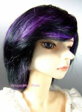 WIG - SUPER DOLLFIE BJD Dolls Sz 8-9 Buttercup Purple &