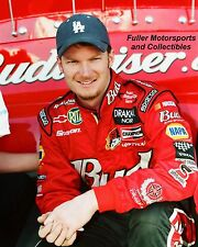 DALE EARNHARDT JR BUDWEISER POSE NASCAR 8X10 PHOTO WINSTON CUP