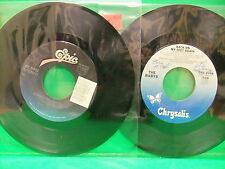 The Babys & Bad English 45 LOT Back On My Feet Again / When I See You Smile NM-