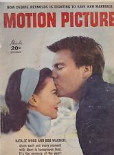 DEC 1957  MOTION PICTURE vintage movie magazine NATALIE WOOD