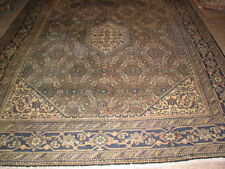 Antique Tabriz Earth Tone Persian  Rug B-7913