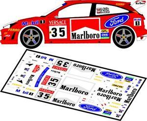 DECALS 1/43 FORD FOCUS RS WRC  #35 - KULIG - RALLYE DE SANREMO 2000 - MFZ D43063