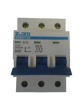 Leitungsschutzschalter ZGM21-63 3P B10A, Sicherungsautomat MCB