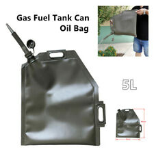 5L Soft  Motorcycle ATV Gas Fuel Tank Can Oil Bag Quad Dirt Pit Bike Universal