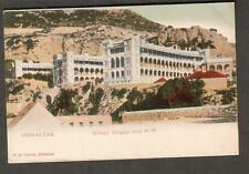 Upu post card V B Cumbo Gibraltar Military Hospital from Northwest