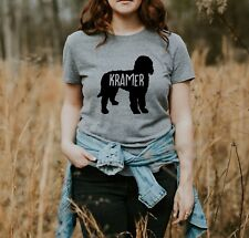 Personalized Goldendoodle Women's T-Shirt S M L XL  Dog Mom Custom Dog Lover