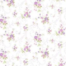 PP35510 - Pretty Prints 4 Blumenmuster Lila Lila Galerie Tapete