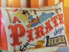 (T) Emma Congdon Pirate Cushion Cover Cross Stitch Chart