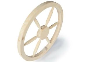 60 cm Decorative Garden Wooden Cartwheel Ornamental Wooden Cart Wagon Wheels