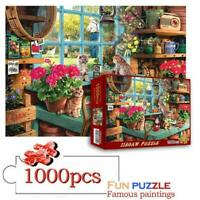 1000 Piece For Adults Kids Learning Education Cute Cats Jigsaw Puzzle Puzzles Ne