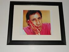 "Framed Pete Townshend Bloody Hand 1980 Famous The Who Picture 14"" x 17"""