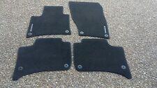 Porsche Cayenne 958 New OEM Factory Genuine Black Color Floor Carpet Mat Set