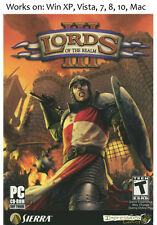Lords of the Realm III 3 PC Mac Game